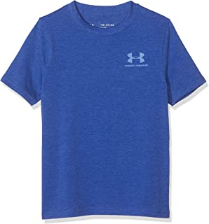 Under Armour Boy's Cotton Short Sleeve Top