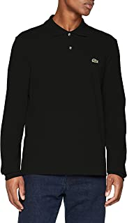 Lacoste Men's Long Sleeve Pique Classic Fit Polo Shirt