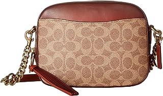 Coach Women's Inside zip and multifunction pockets Camera Bag
