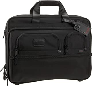 Unisex-Adult Alpha Deluxe Wheeled Brief 06127DH Laptop Bag