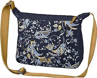 Jack Wolfskin Valparaiso Bag, Práctica bolsa de hombro. para Mujer, azul, Einheitsgröße