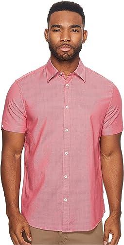 Ben Sherman - Short Sleeve Stretch Oxford Woven Shirt