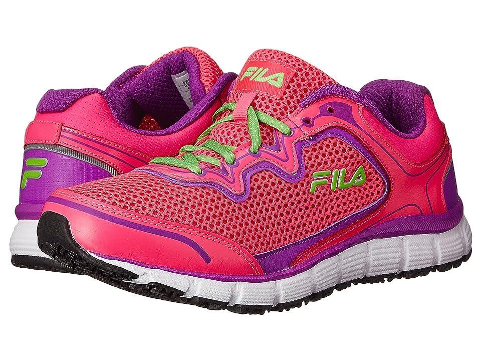 Fila Memory Fresh Start SR (Knockout Pink/Purple Cactus Flower/White) Women