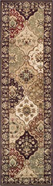 Superior Elegant Palmyra Collection Area Rug, 10mm Pile Height with Jute Backing, Gorgeous Traditional Persian Rug Design, An