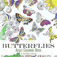 Adult Coloring Book: Butterflies