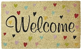 DII Sunflower Doormat, 18x30, Welcome Hearts