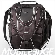 Mobile Edge Black/Silver Mini Messenger Bag for Laptops, Chromebooks, Tablets, iPads Up to 13.3 Inch, for Men, Women, Students MEMMS2
