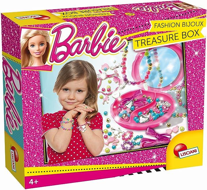Barbie fashion bijoux treasure box lisciani giochi 55937