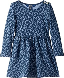 Floral French Terry Dress (Toddler)