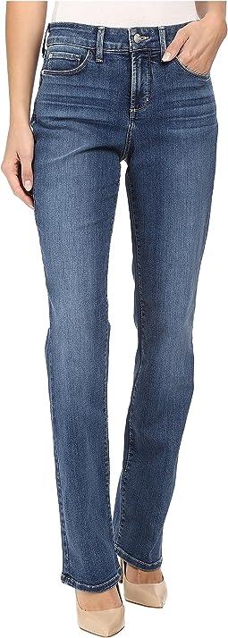 NYDJ - Marilyn Straight Jeans in Heyburn Wash