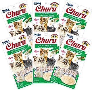 INABA Churu Tuna with Chicken Recipe 6 Packs, 56 Grams (USA602A)