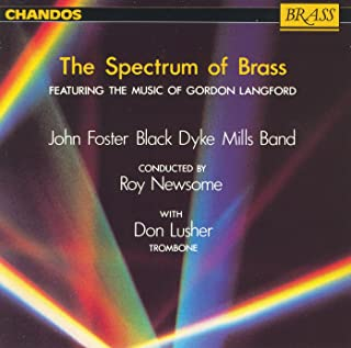 Black Dyke Mills Band: Spectrum Of Brass (The) - The Music Of Gordon Langford