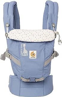 ERGObaby 3定位 adapt 婴儿背带苏菲 LA girafe 节日 collaboration 插入 LESS 新生儿 Ready?–?蓝色?–?均码