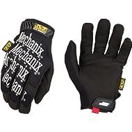 Mechanix Wear MG-05-009 Original Synthetic Leather Palm Mechanics Glove, Medium, black