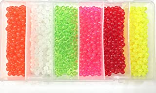 Round 6mm Bead Kit 1,200pc Kit 6 colors in Storage Box