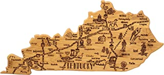 Totally Bamboo Kentucky State Destination Bamboo Serving and Cutting Board