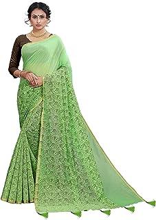 a0496d6716 Greens Women's Sarees: Buy Greens Women's Sarees online at best ...