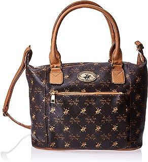 BHPC Womens Satchel Bag, BROWN - BHVA3594BN