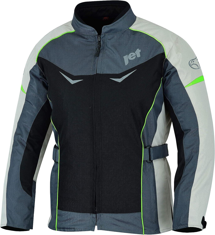 JET Chaqueta Moto Mujer Textil Impermeable con Protecciones ROCHELLE