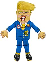 FUZZU Mr. Donald Trump Political Parody Dog Toys with Squeaker – Small to Extra Large Dog