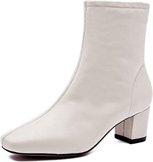 BLUMEN Women Heel Boots Müller Lily Leather Casual Business