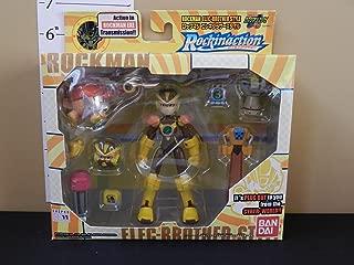 Megaman Rockin' Action Elec-Brother Style ( Rockman Mega Man Battle Network NT Warrior Bandai Action Figure 2002 )