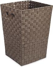 Whitmor Woven Strap Laundry Hamper Java