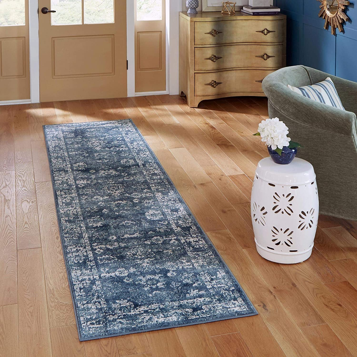 Ranking TOP7 Rugs.com Charleston Collection Rug – 40% OFF Cheap Sale Ft Navy Blue Runner 6