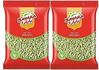 Bayara Green Lentil Dal, 1 Kg -(Pack of 2)