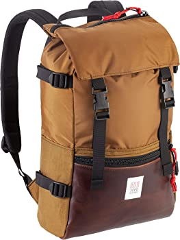 Topo Designs Classic Rover Backpack (Black/ Clay)
