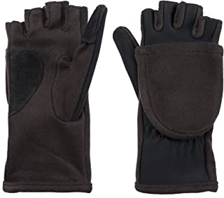 Women's Hybrid Convertible Flip Top Gloves with Magnet