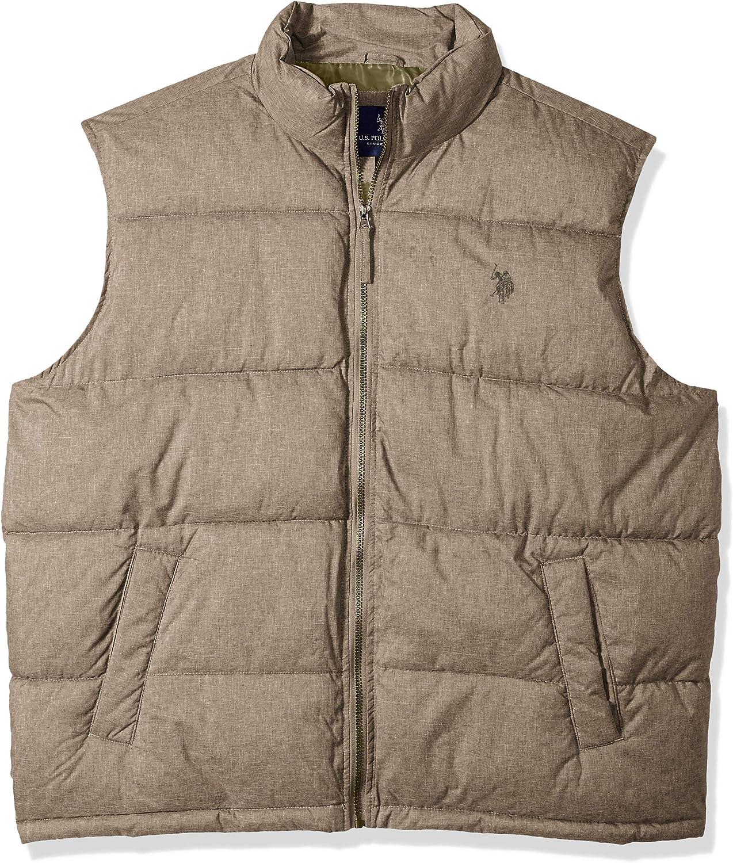 U.S. Polo Assn. Men's Heather Basic Vest