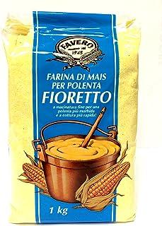 4 x 1 Kg Favero Maismehl Polenta Mehl Fioretto