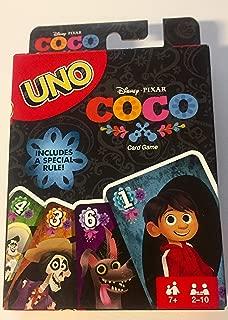 NEW Disney Pixar COCO UNO Card Game Full Color Special Rule Edition