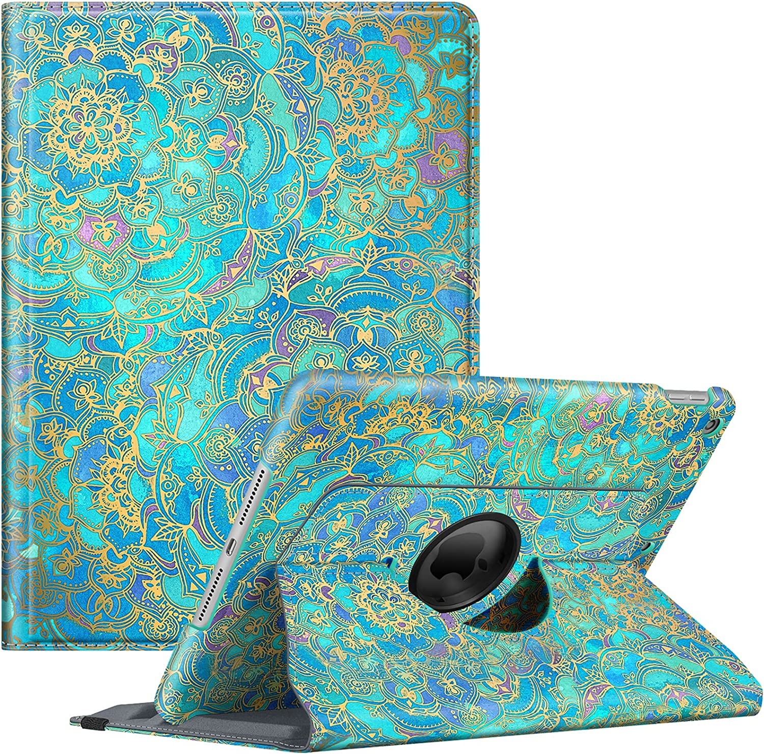 Fintie Rotating Case for iPad Generation Online Challenge the lowest price of Japan limited product Genera 9th 2021 8th