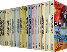 An Inspector Montalbano Mystery Books 1 - 18 Collection Set by Andrea Camilleri