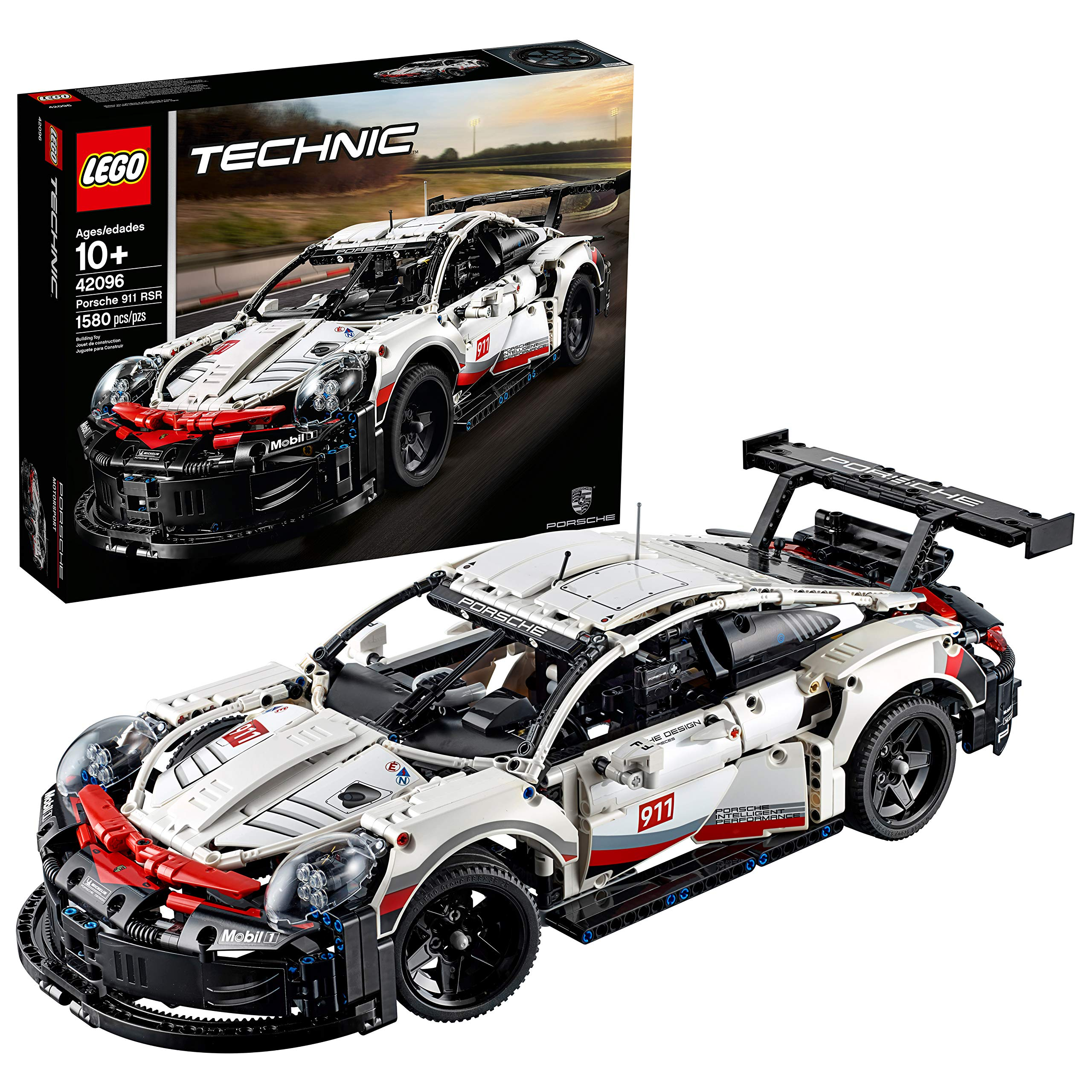 Brand New LEGO Technic Porsche 911 RSR 42096 Building Kit
