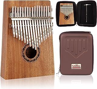 Tehillim Kalimba 17 Keys Thumb Piano with Hard Case, Study I