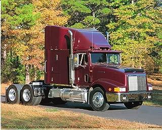 Truck Wall Decor International Diesel Big Rig Semi Richard Stockton Art Print Poster (16x20)