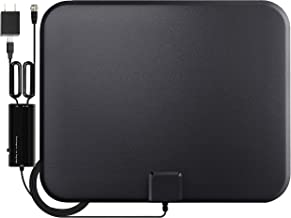 GESOBYTE Amplified HD Digital TV Antenna Long 200+ Miles...