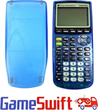 Clear Blue TI 83 Plus Graphing Calculator