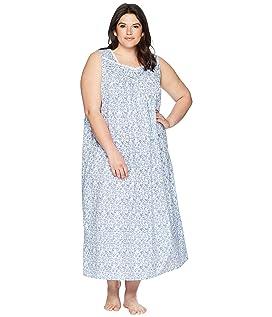 Plus Size Ballet Sleeveless Nightgown