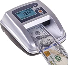 New Counterfeit Bill Detector & Counter with 5 Detection Modes
