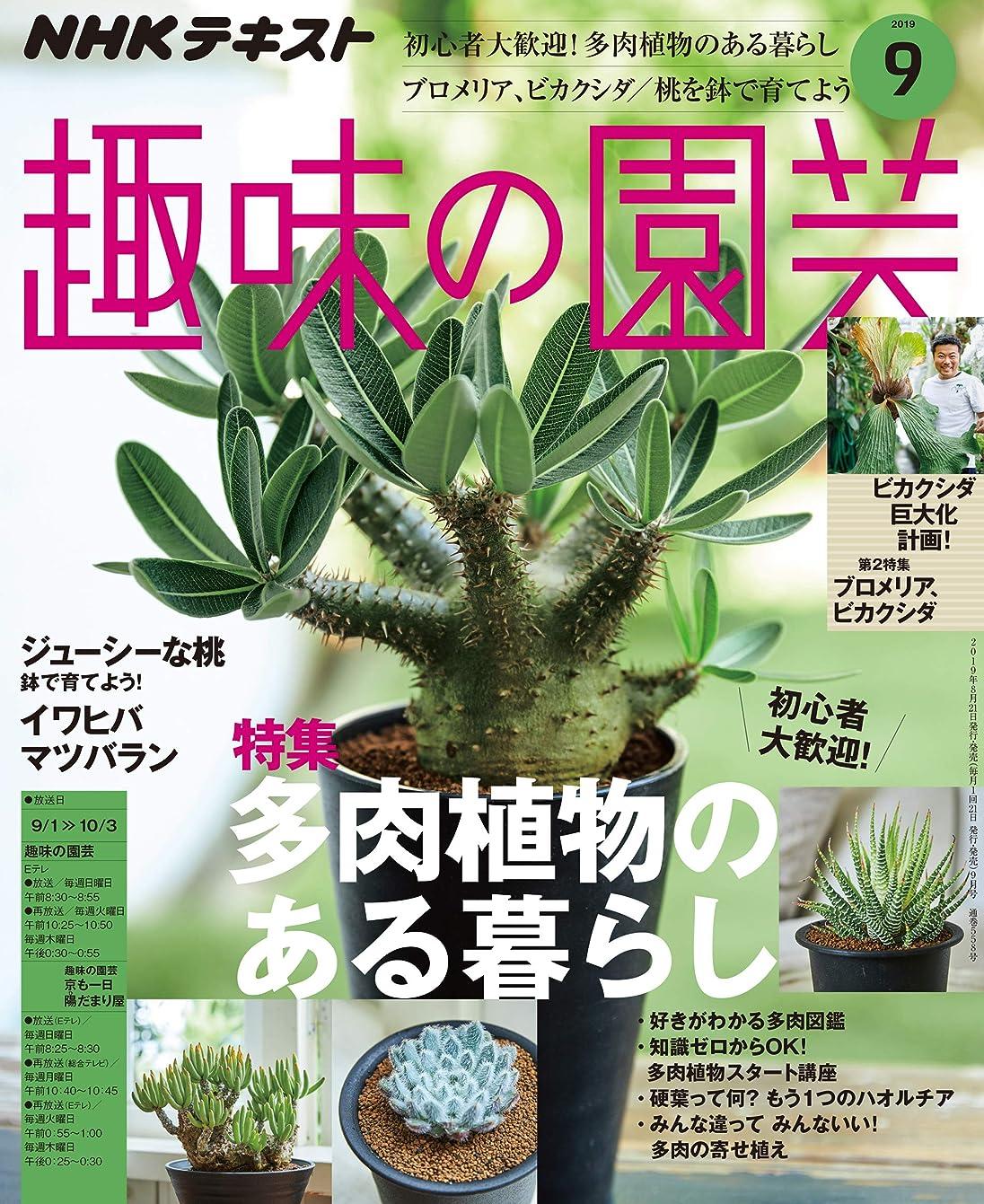 所得提供されたドラマNHK 趣味の園芸 2019年 9月号 [雑誌] (NHKテキスト)