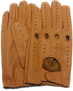 Men's Leather Driving Costume Cosplay Fashion Gloves Genuine Top Quality Leather-Free Returns
