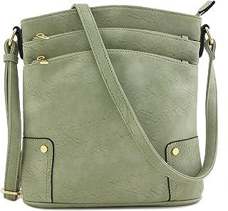 6749aff2ea Amazon.com  Faux Leather - Crossbody Bags   Handbags   Wallets ...