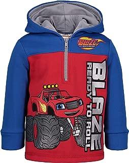 Blaze and The Monster Machines Boys' Fleece Hoodie Pullover Sweatshirt w Zipper
