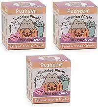 GUND Pusheen Blind Box Series #4 Halloween Surprise Plush, 3-Pack
