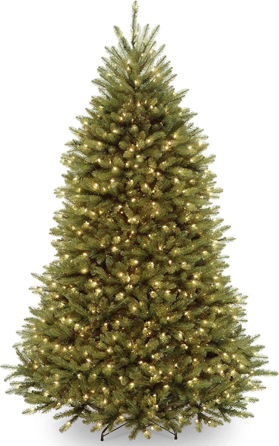 National Tree Dunhill Fir With Fort Worth Mall Oklahoma City Mall 7.5 Dual Lights LED Color
