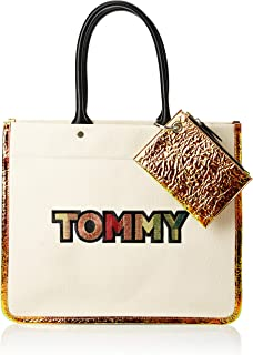 Tommy Hilfiger Tote Bag for Women-Crushed Irridescent